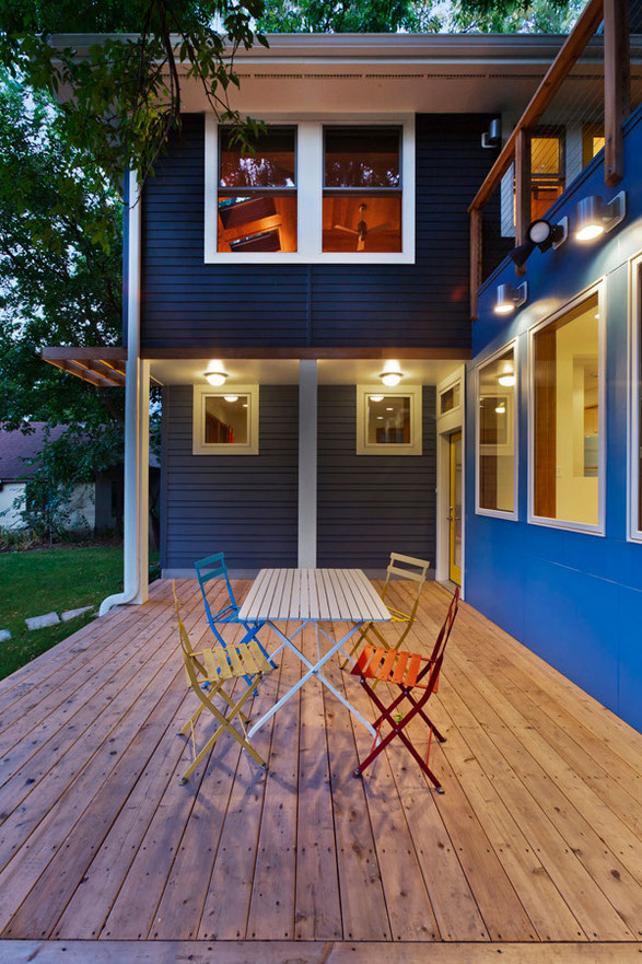 A beautiful, well crafted outdoor space to spend a summer's evening