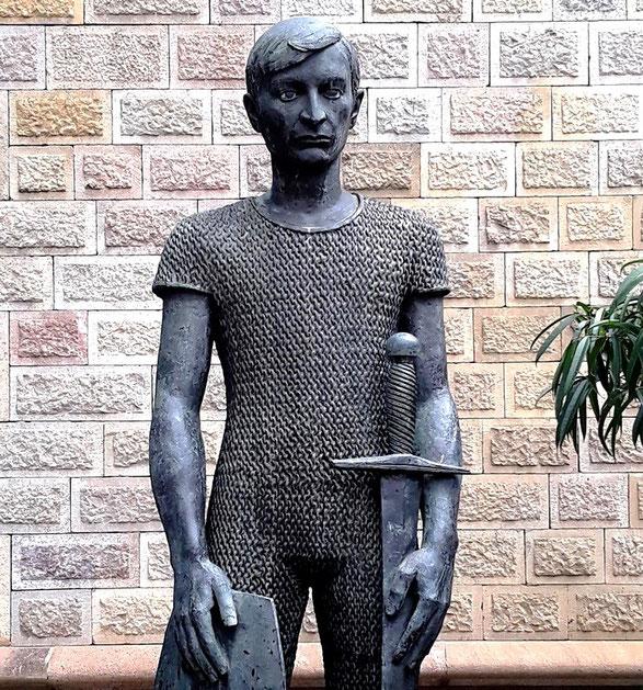 Памятник Святому Георгию Жоан Ребулль