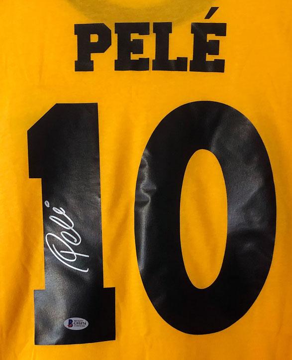 Autograph Pele Autogramm