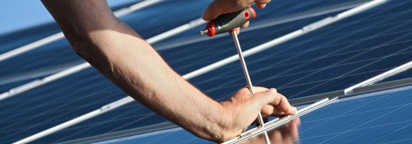 Umsetzung Photovoltaik