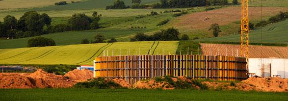 Umsetzung Biogasanlage