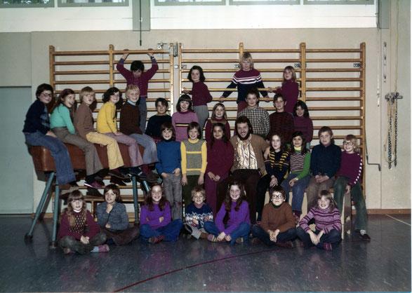 Mittelstufe 1976; Lehrer: Franz Küpfer