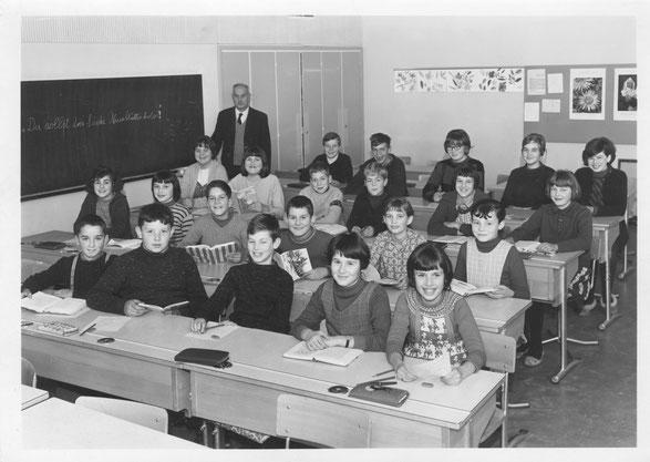 Die Oberschule im Schuljahr 1967/68 (Lehrer: Arthur Hort)