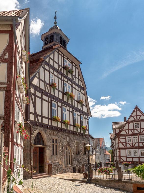 Das Rathaus von Homberg
