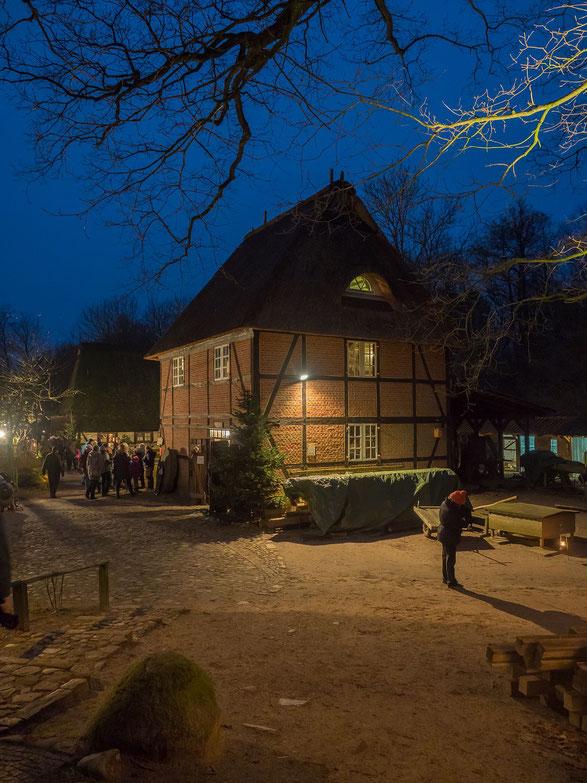 Die Grützmühle des Museumsdorfes - in ihr verbirgt sich ein lange gut gehütetes Geheimnis :-)