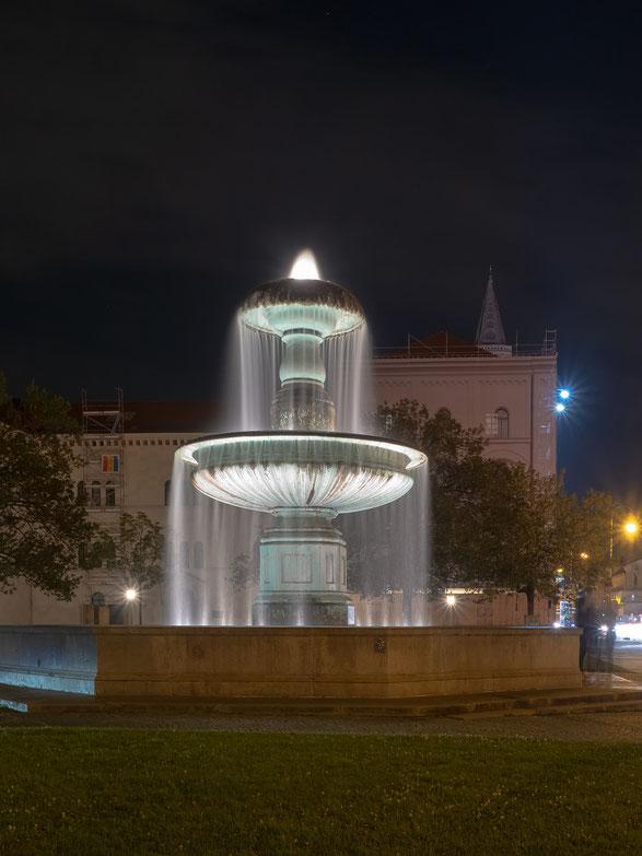Brunnen an der Universität
