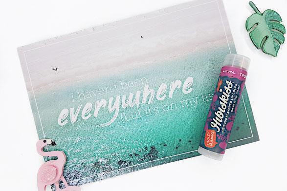 Hibiskiss Lippenfarbe Lippenstift Cryza Rumors Healthlove Produktreview