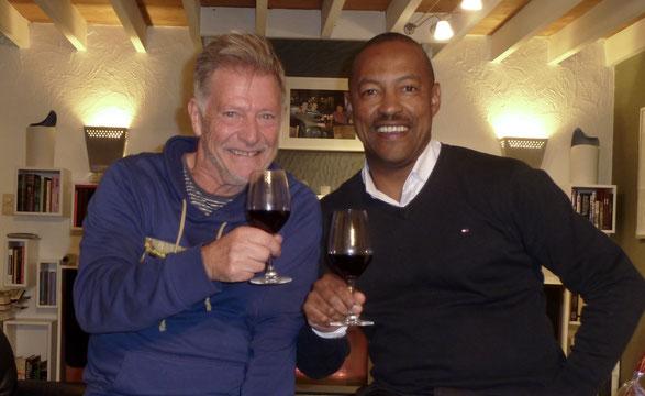 Met Vernon Henn Thandi wines Stellenbosch South Africa