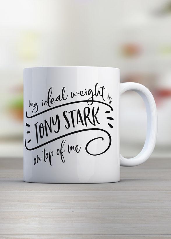 Kaffeetasse Marvel Ironman personalisierbar