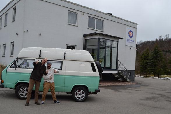 Jürgen und Mark - das passt! Liebe auf den ersten Blick :-).