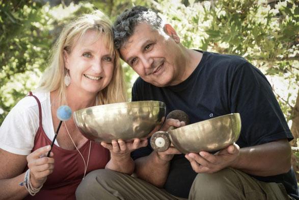 Anna und ihr Mann Nikos. Die beiden klingen und schwingen bereits seit 34 Jahren zusammen.