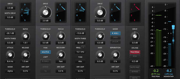 True Peak Limiter for Mastering