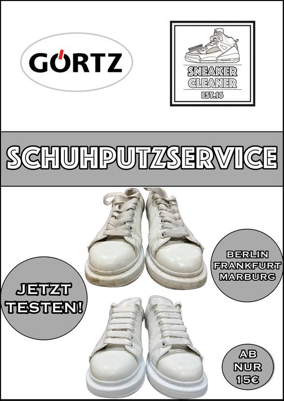 Sneaker reinigen, Sneaker, Sneakers, Sneaker reinigen lassen, Sneakers reinigen lassen, Sneakerreinigung, Frankfurt, Frankfurt am Main, FFM, München, Berlin, Stuttgart, Marburg, Turnschuhe,