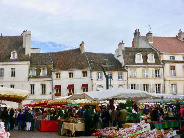 Stadt und Gartenreise nach  Beaune im Burgund