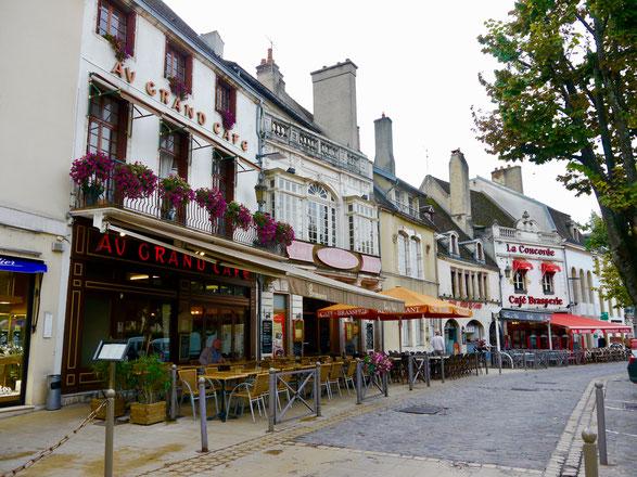 Städtereise nach Beaune im Burgund in Frankreich