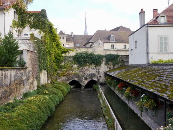 Frankreich: die charmante Altstadt von Beaune