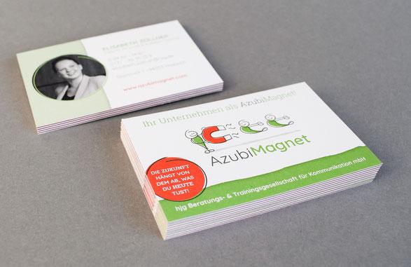Visitenkarten Werbeartikel Grafikdesign Straubing Werbeagentur