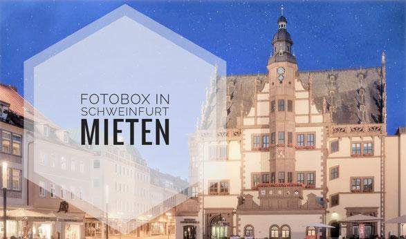 Fotobox mieten in Schweinfurt bei www.shootingbooth.de