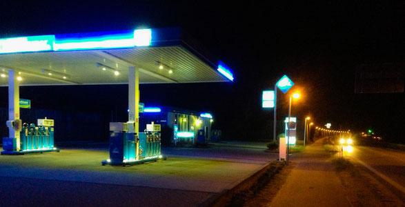 Tankstelle in Engelsby