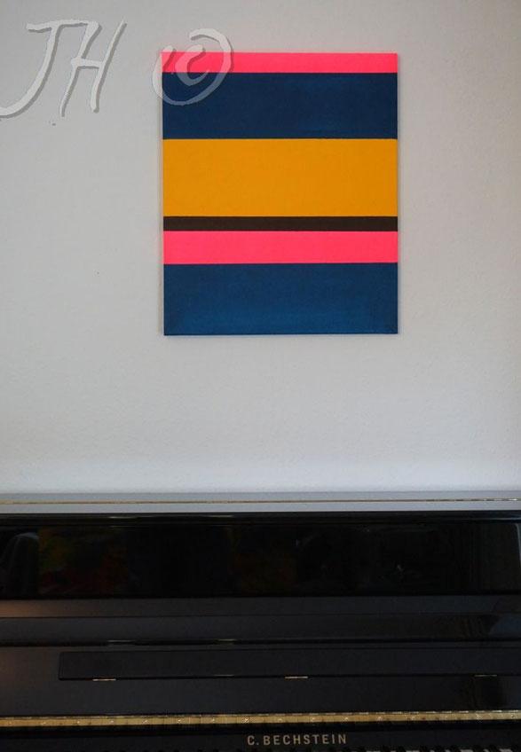 JH9P: Acryl auf Leinwand, Abmessungen [cm]: 50x60x1,5