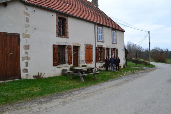 Les voisins du gîte chez bijou à Genouillac en Creuse (Limousin)