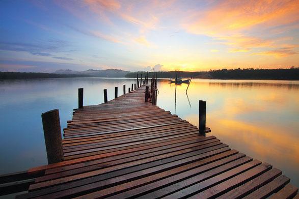 der Steg ins Meer, 9 Schritte zum partnerschaftlichen Glück