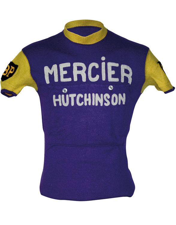 Hauptsponsor Cycles Mercier war ein Radhersteller aus Saint-Étienne