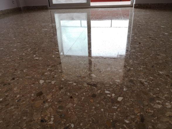 Abrillantado vitrificado pulidor suelos de m rmol en - Liquidos para abrillantar terrazo ...