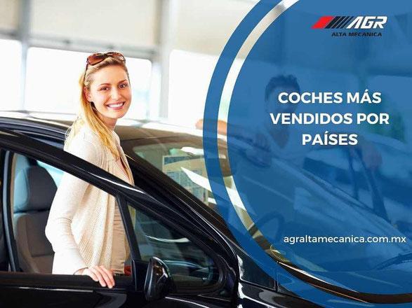coches más vendidos por países - taller mecánico en querétaro