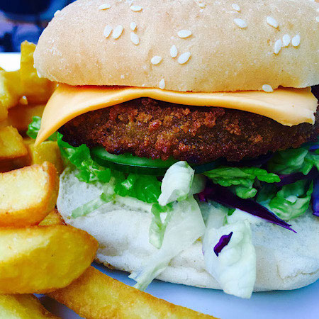 vegan burger burger abroad