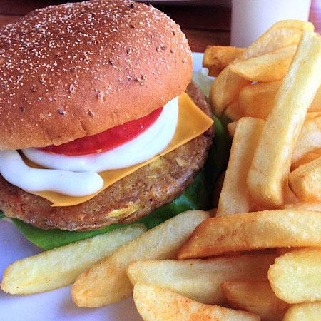 vegan burger veggie visa