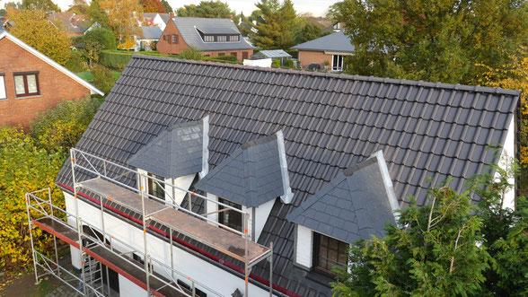 Nouvelle toiture tuile à Lillois