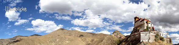 TIB03 - Tibet, Kloster Yumbu Lakhang (Palast des 1. Tiebetischen Königs, heute Kloster)