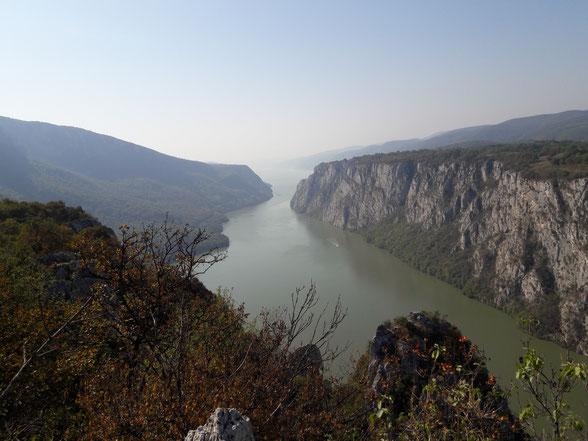 Danube Portes de Fer fleuve