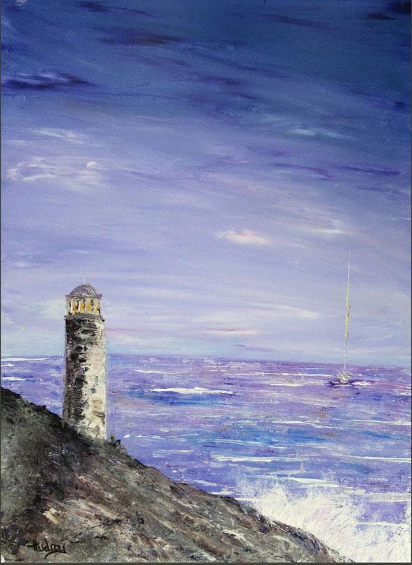 tableau-paysage-ocean-charente-maritime-royan-coucher-de-soleil-audrey-chal-artiste-peintre-saint-sulpice-de-royan