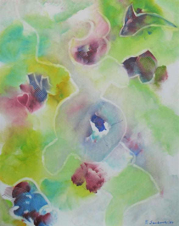 Visionelle Kunst - Britta Sembowski - MAGIC MOMENTS - Spirituelle Kunst - Acrylmalerei - Unikat kaufen - magische Momente
