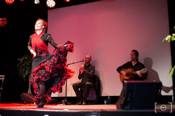 Danseuse flamenco soirée