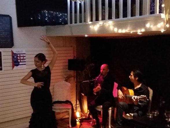 Prestation flamenco