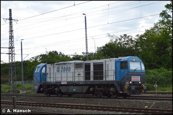 273 005-9 fährt am 5. Juni 2020 Lz durch Luth. Wittenberg Hbf.