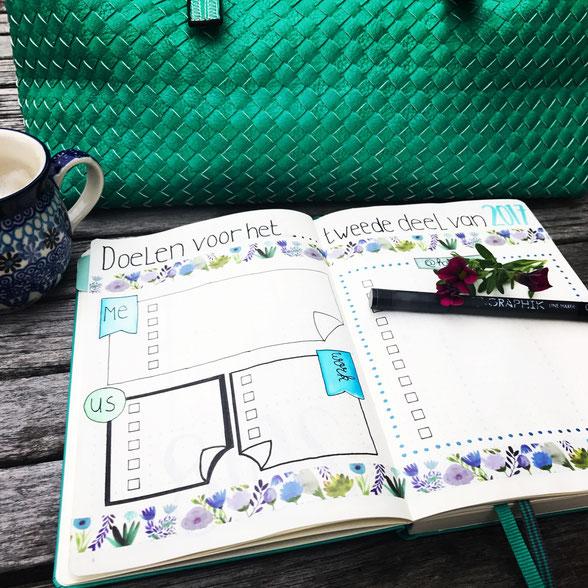 Plannen tijdens een Burn out, doelen stellen en gelukkig worden