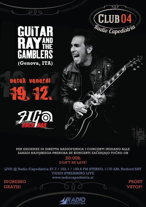 Guitar Ray & The Gamblers - 12/2014