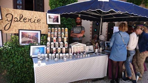 Premier stand Le Cabinet De Cire South Vintage Festival