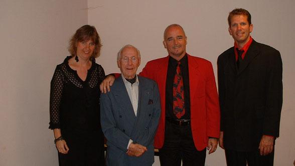 v.l.n.r. Iris Sigtermans, Eddy Christiani, Nick van den Bos, Martijn Klaver