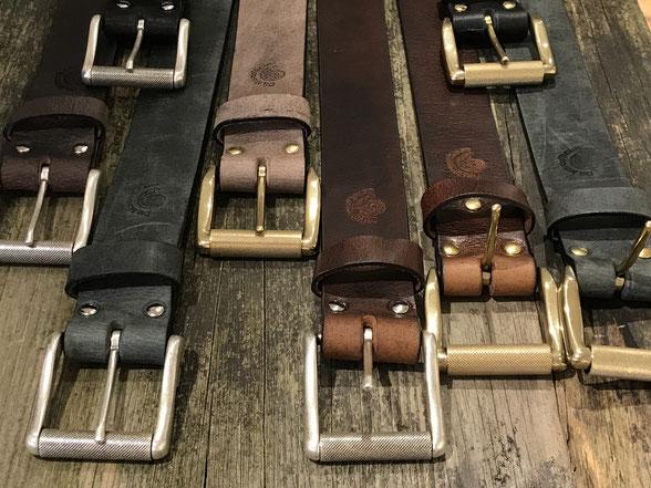 Ledergürtel Leatherbelt