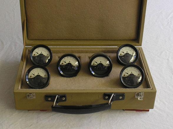 Kari & Riedel DDR  Kontroll Meßsatz für Strommessungen  von 1950