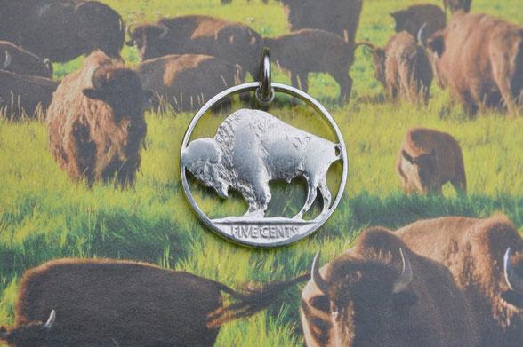 Münzsägewerk Katrin Thull | USA - Büffel Black Diamond