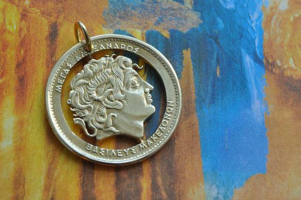 Münzsägewerk Katrin Thull | Griechenland - Alexander der Große