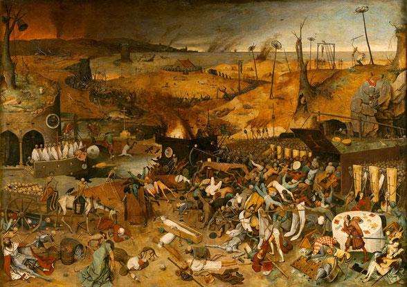Шедевры музея Прадо - Триумф смерти - Питер Брейгель Старший