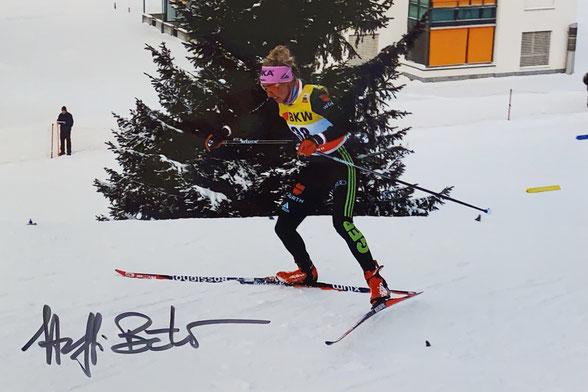 Autograph Steffi Böhler Autogramm