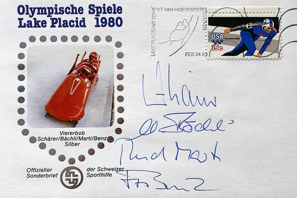 Autogramm Erich Schärer Autograph